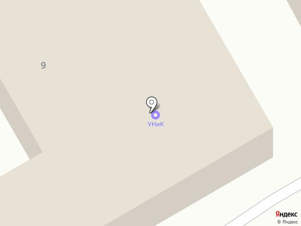 УНиКо на карте