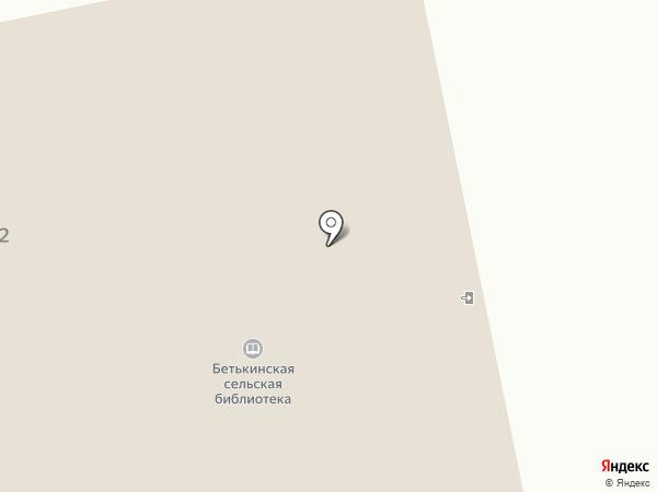 Бетькинская сельская библиотека на карте