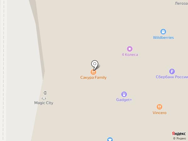 Таттелеком на карте