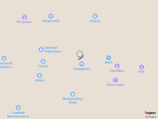 Adidas на карте