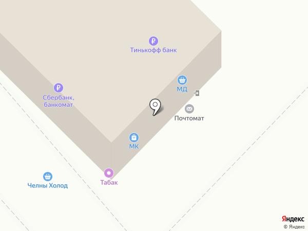 Магазин выпечки на карте