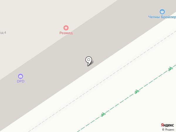 Мясная лавка на ул. Белоглазова на карте