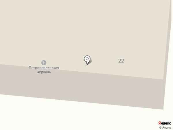 Храм Петра и Павла на карте