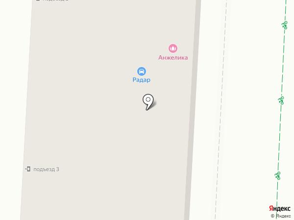 Радар Альметьевск на карте