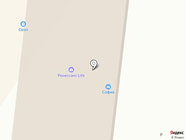 София-Авто на карте