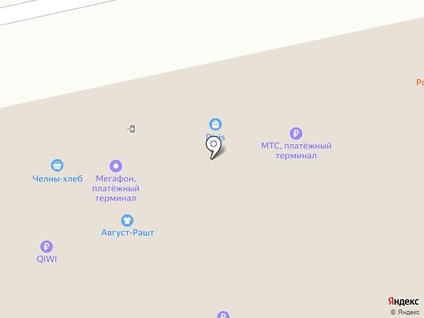 Август-Рашт на карте