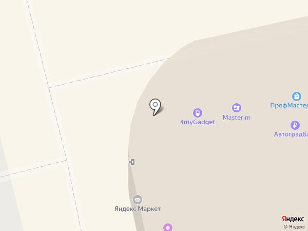 Здоровый компьютер на карте