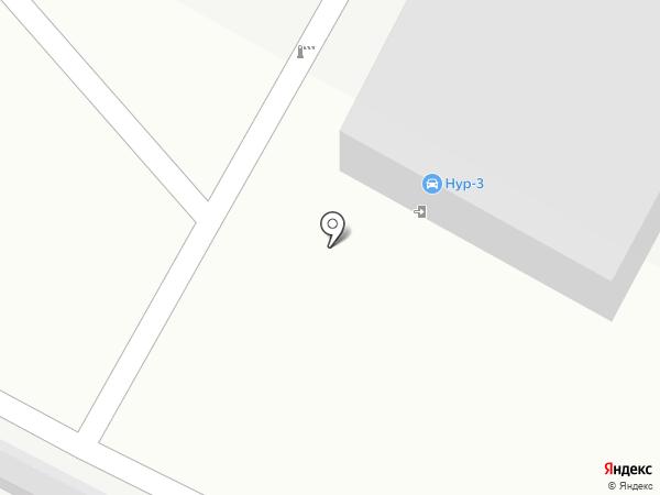 Нур-3 на карте