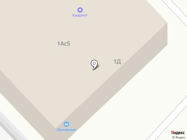 Квартет на карте