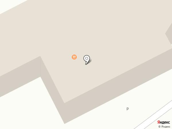 Самолет на карте