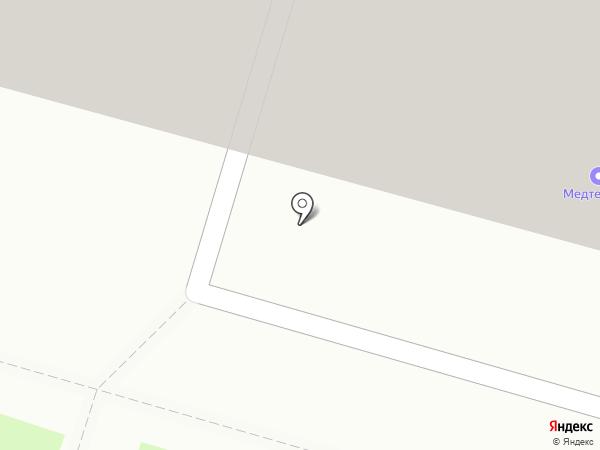 Галеон на карте