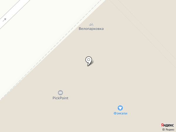 Фэмэли на карте