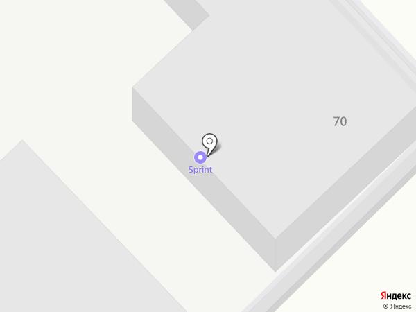SПРИНТ на карте