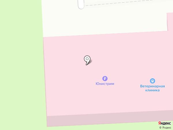 Ветеринарная лечебница на карте