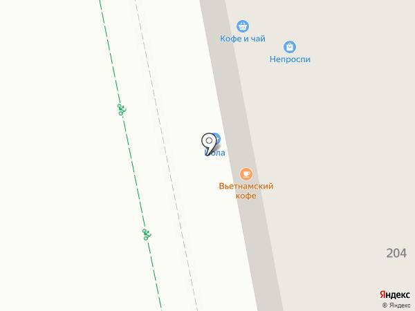 Чебоксарский трикотаж на карте
