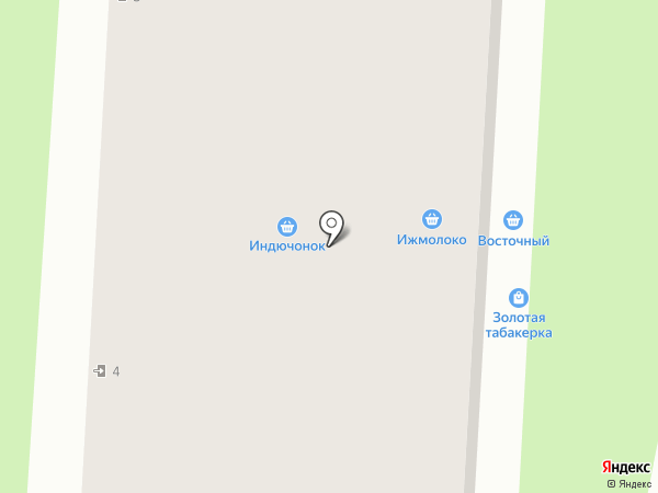 Любимая на карте