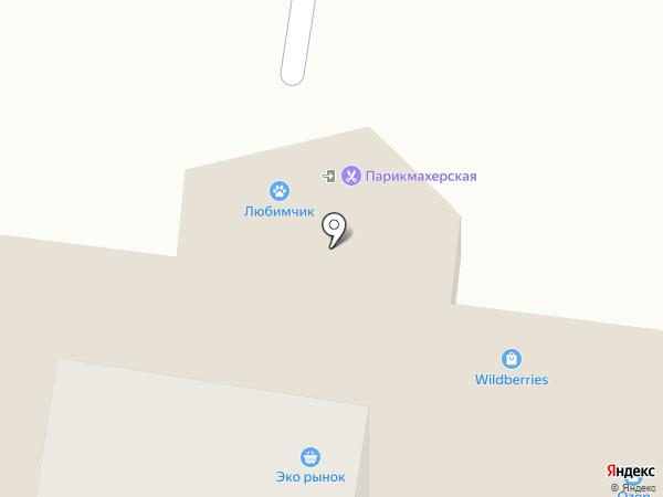 Онекси+ на карте