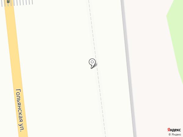 Пончиковая на карте