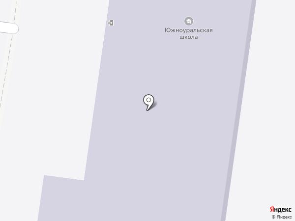 Южноуральская средняя общеобразовательная школа на карте