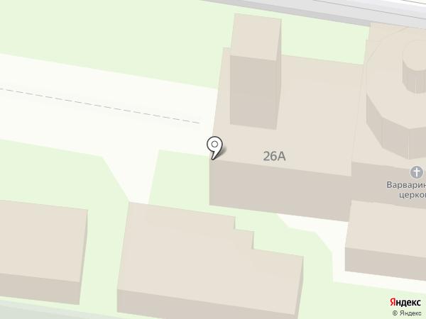 Храм Святой Великомученицы Варвары на карте