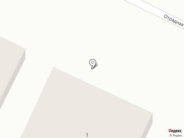 Сауна на Отрадной на карте