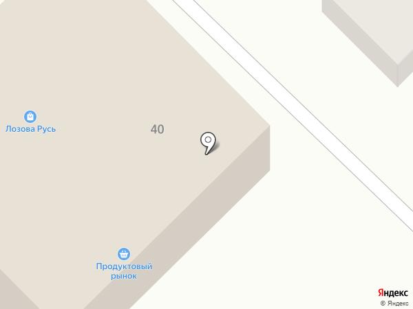 Продуктовый магазин на Ленинской на карте