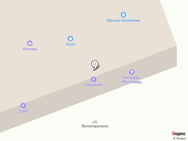 Кругаль на карте