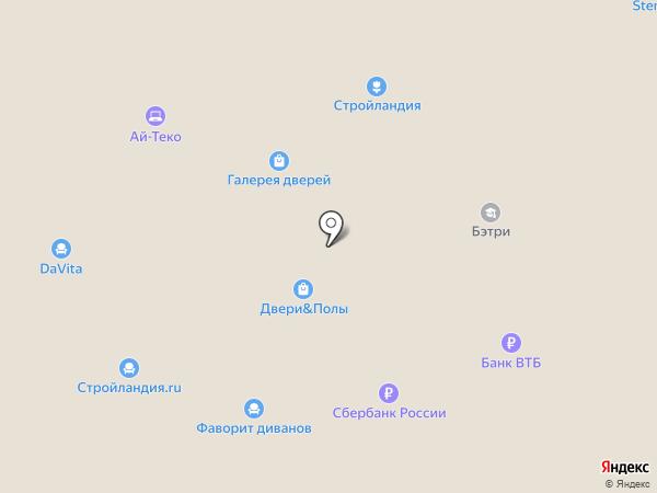 Биглион на карте
