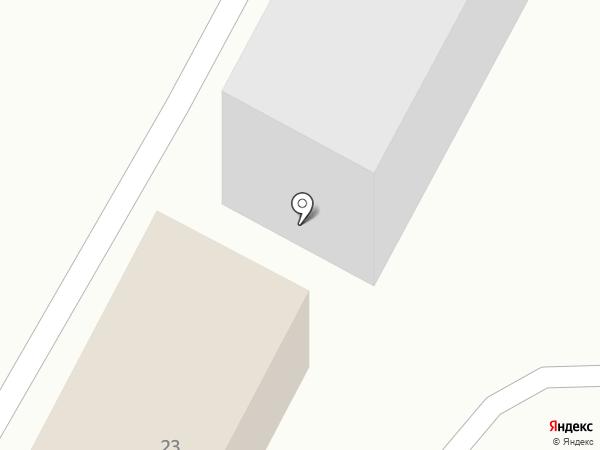 Сирень на карте