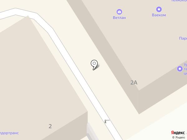 TopCar на карте