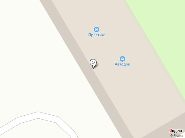 Автомойка на ул. Пушкина на карте