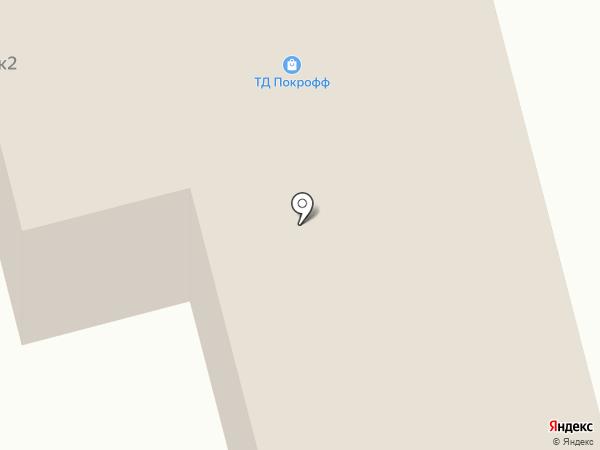 Автофора на карте