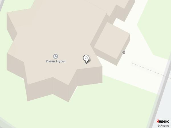 Соборная мечеть на карте