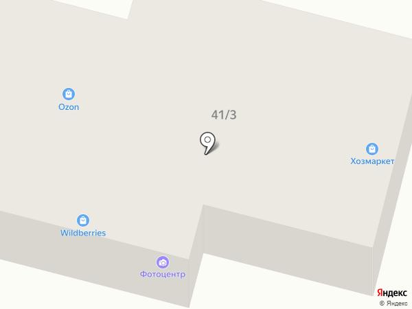 Круглик на карте