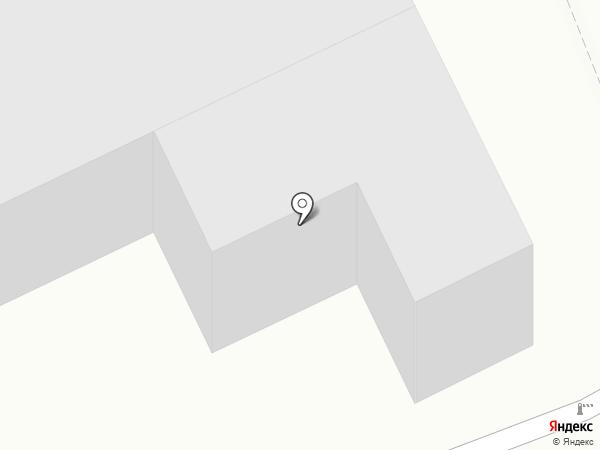 Крытая автостоянка на карте