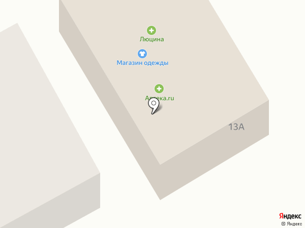 Вещичка на карте