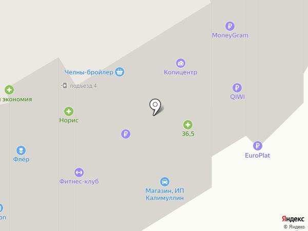 ЭЛЕКТРОникс на карте