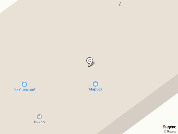 Викар на карте