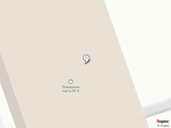 Пожарная часть №4 Кировского района на карте