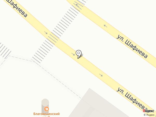 Благовещенский хлеб на карте