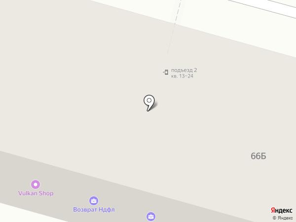 Марик на карте