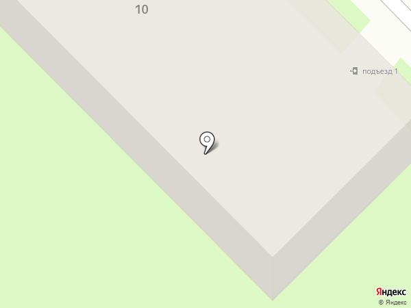 Леонтьевский на карте