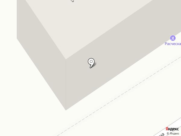 Расчёска на карте