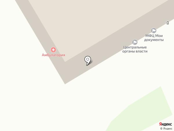 Песьяновская сельская врачебная амбулатория на карте