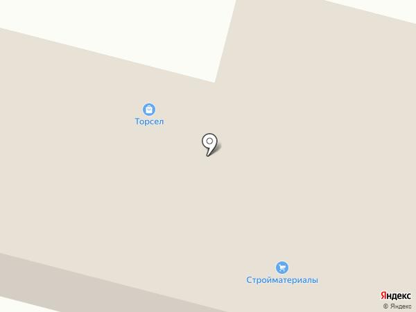 Торсел на карте