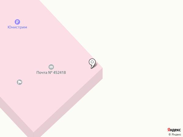 Акбердинский фельдшерско-акушерский пункт на карте