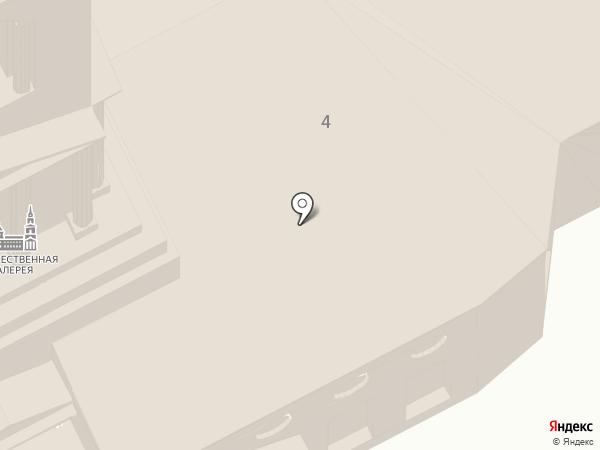 Пермская государственная художественная галерея на карте