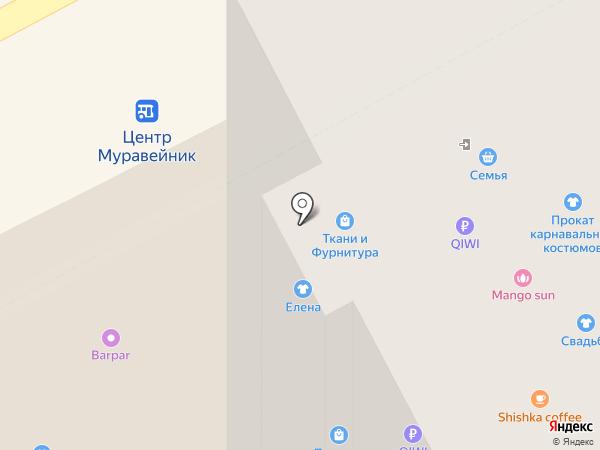 Джинсовый дисконт на карте