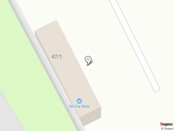Валек на карте