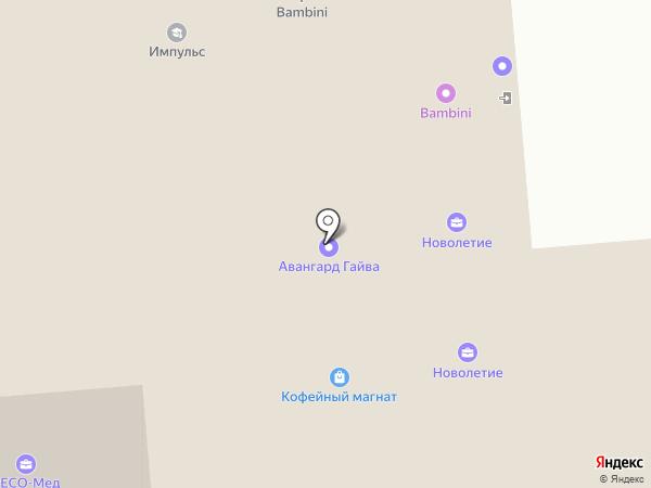 ReLfi на карте